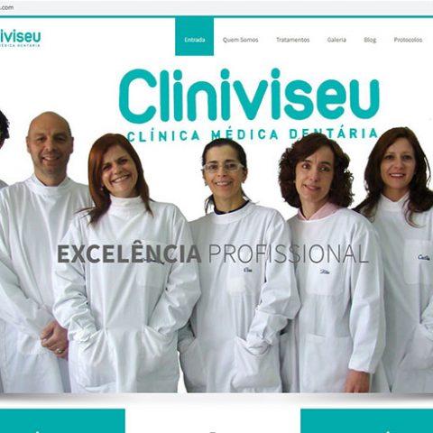 Website Cliniviseu - Clinica Dentária em Viseu
