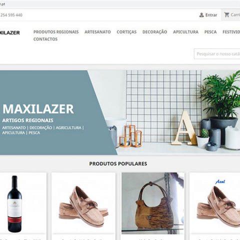 Comércio Eletrónico - Loja online Maxilazer Artigos Regionais