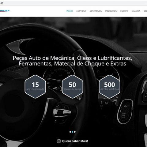 Website Vielpeças - Comércio de Peças Auto em Viseu