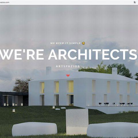 Website Artspazios