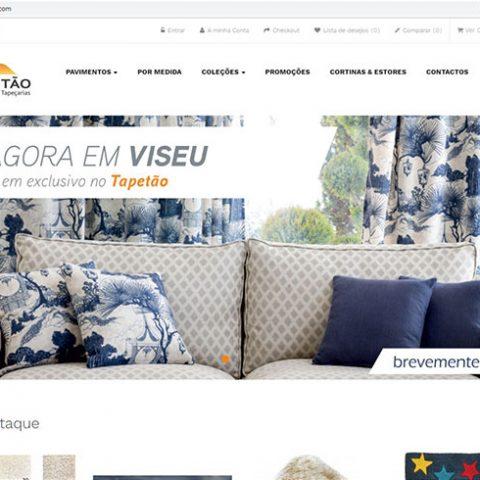 Loja online Tapetão - Decoração e Comércio de Tapetes