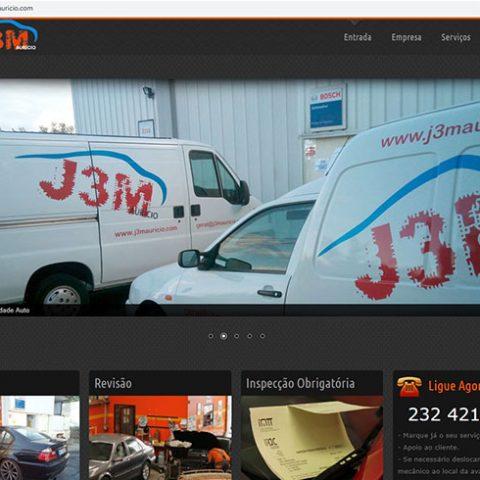 Website Oficina Auto J3M em Viseu