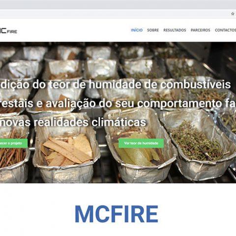 Portfolio - website ADAI / MCFIRE