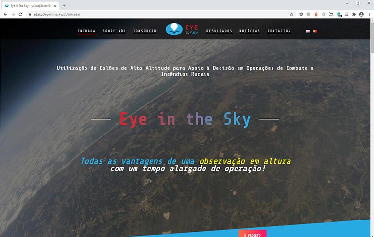 Website Eye in the Sky